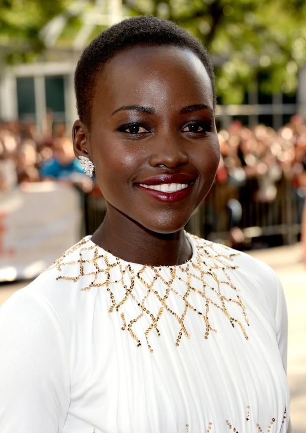 A deslumbrante Lupita Nyong'o em 2013 (Foto: Getty Images)