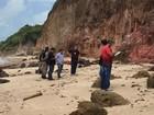 Corpo de homem é achado na praia do Cabo Branco, em João Pessoa