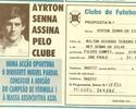 """""""Primo pobre de Lisboa"""" mostra com orgulho carteirinha de sócio de Senna"""