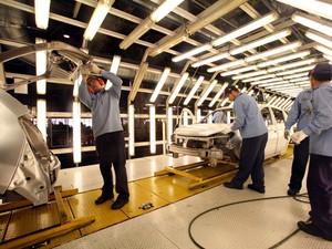 Setor de veículos automotores impulsionou produção industrial no Paraná, segundo o IBGE (Foto: Divulgação/ ANPr)