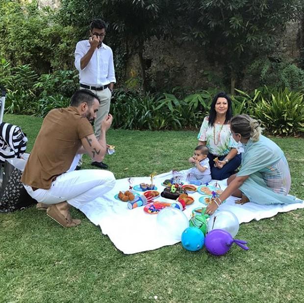 Kelly Key comemora mêsversário do filho com família e amigos (Foto: Reprodução/Instagram)
