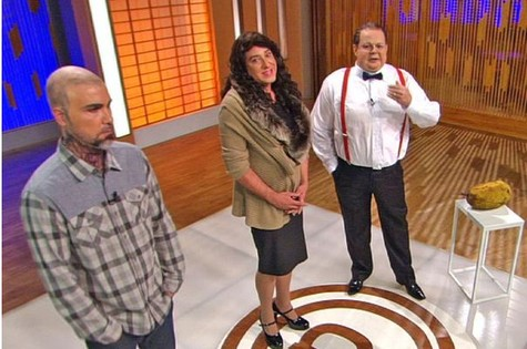 Elenco do quadro 'Pânico's chef', paródia do 'MasterChef', da Band (Foto: Divulgação)