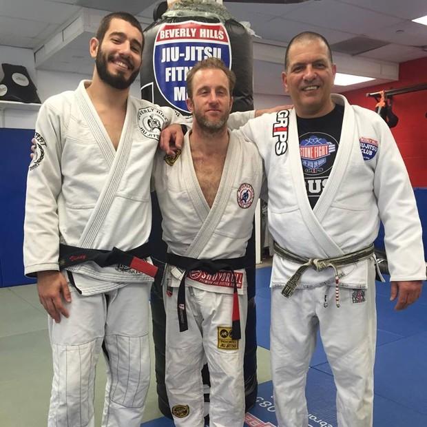 Vinny Di Lucia, Scott Caan e Marcus Vinícius Di Lucia (Foto: Divulgação)