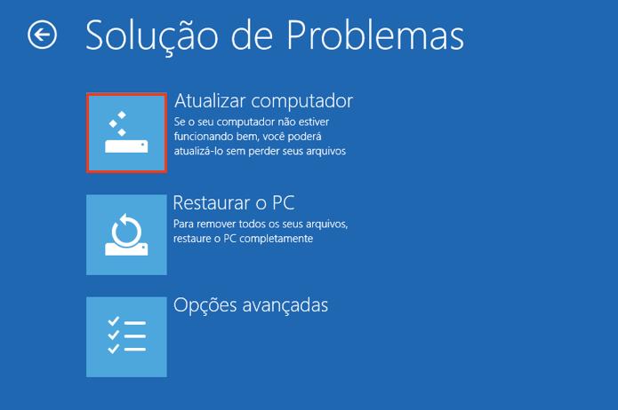 Atualize para manter os seus arquivos (Foto: Reprodução/Paulo Alves)