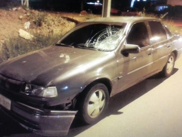 Acidente aconteceu na Avenida Marechal Rondon, no Setor Urias Magalhães, em Goiânia, Goiás (Foto: Divulgação/ Polícia Civil)