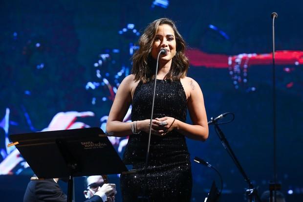 Anitta participa de show de Andrea Bocelli (Foto: Manuela Scarpa/Brazil News)
