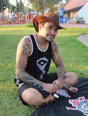 Cowboy Corinthians (Foto: Renan Morais/GLOBOESPORTE.COM)