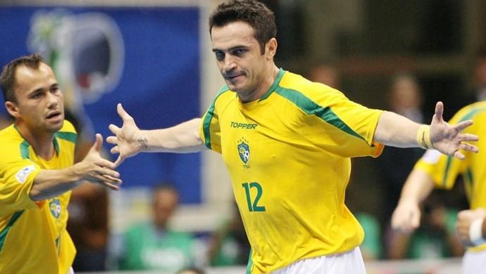 Falcão Mundial de Futsal 2008 (Foto: Fotonet/Fifa)