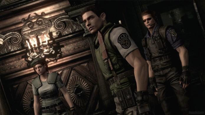 O remake de Resident Evil para o GameCube em 2002 reimaginou o game original e trouxe gráficos impressionantes (Foto: Reprodução/Destructoid)