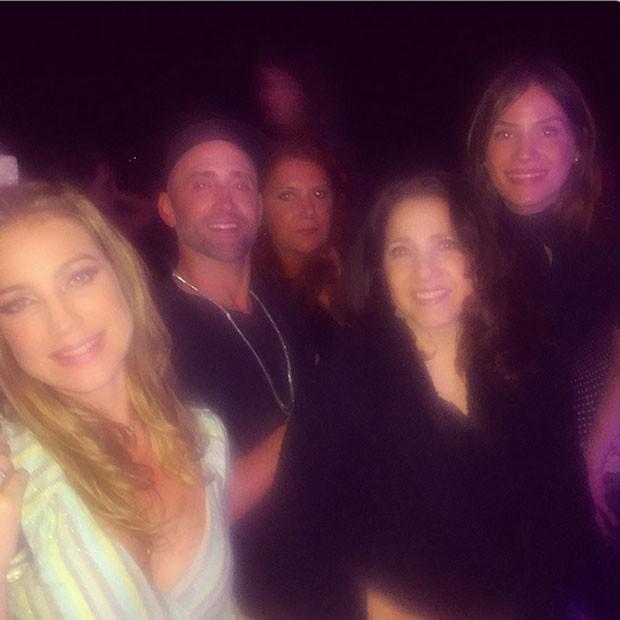 Luana Piovani, Paulo Gustavo, Patricya Travassos e Malu Valle em festa na Zona Sul do Rio (Foto: Instagram/ Reprodução)