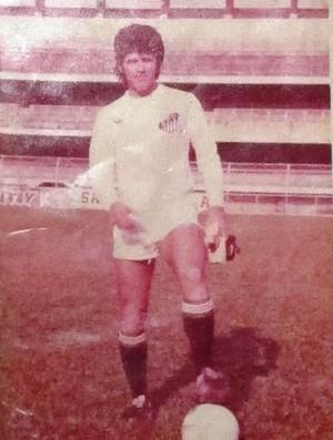 João Paulo no Santos (Foto: Arquivo Pessoal)