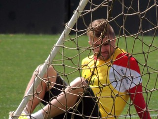Sasha atacante Inter (Foto: Tomás Hammes / GloboEsporte.com)