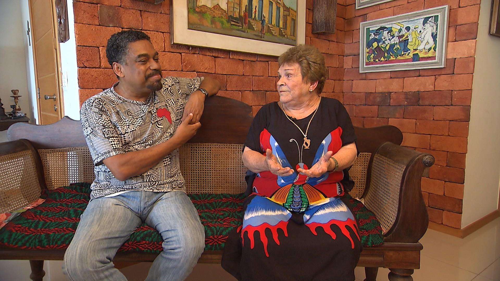 Yêda Pessoa de Castro fala sobre a cultura africana (Foto: Divulgação)