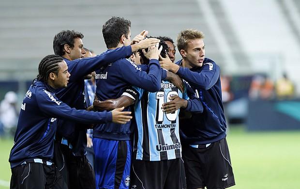 grêmio lajeadense zé roberto gol gauchão arena (Foto: Lucas Uebel/Grêmio FBPA)