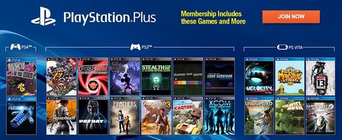 Plus é a rede online do PS4 (Foto: Divulgação/Sony)