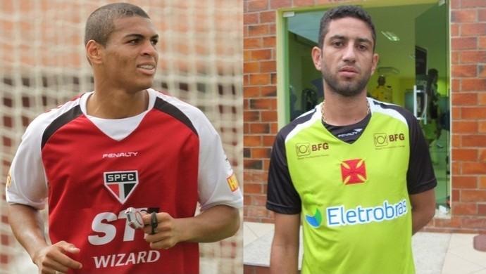 Mateus Caramelo e Thiago Feltri (Foto: Montagem/Globoesporte.com)
