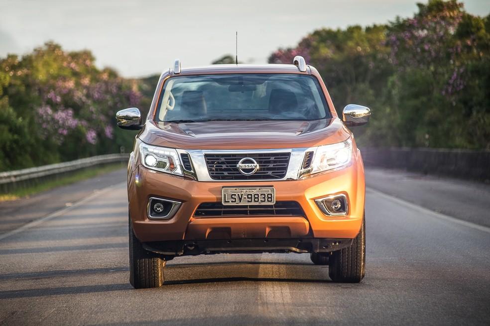 Nissan Frontier (Foto: Gustavo Epifânio / G1)