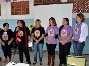 Mulheres participam de encontro em Bertioga, SP (Foto: Renata de Brito / Prefeitura de Bertioga)