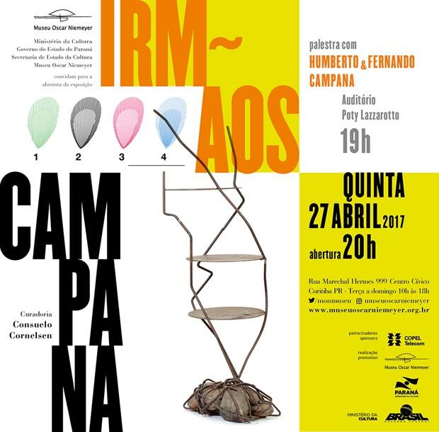 Irmãos Campana ganham exposição em Curitiba (Foto: Divulgação)