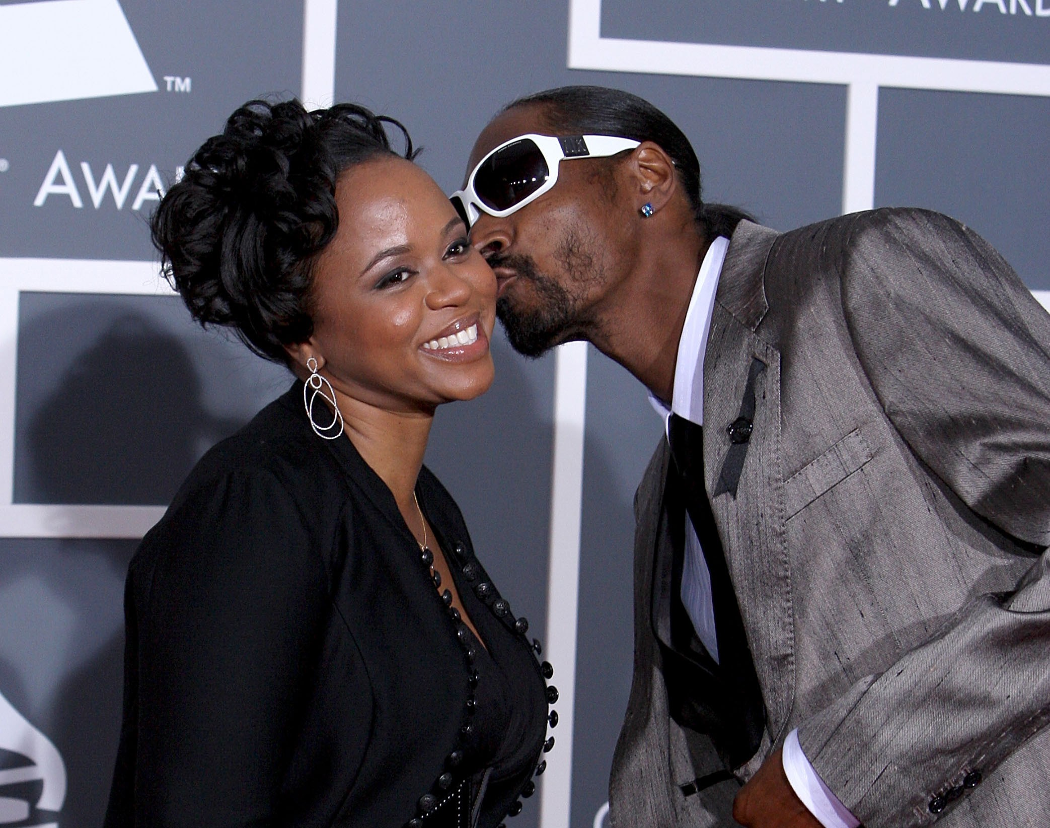 Snoop Dogg e Shante Taylor (Foto: Getty Images)