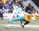 Com Le'Veon Bell e Brown inspirados, Steelers vencem e avançam na NFL