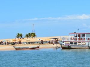 Praia em Sergipe (Foto: Marina Fontenele/G1 SE)