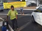 Por sonho de moto adaptada, homem vai às ruas pedir ajuda em Ribeirão, SP