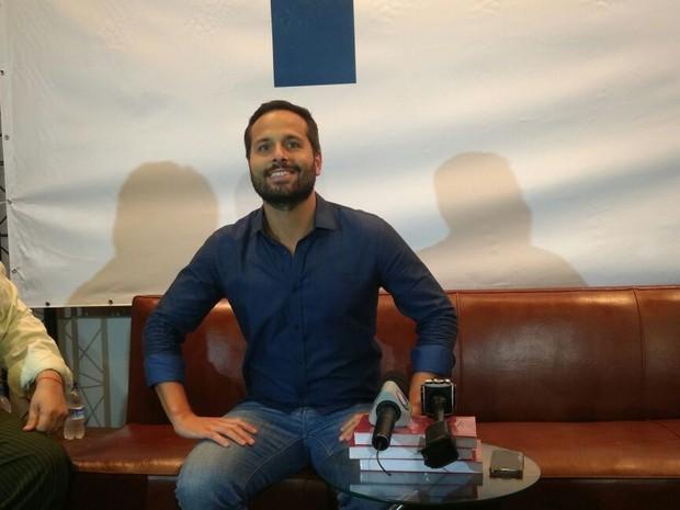 Marcelo Calero falou sobre a sua saída do Ministério da Cultura (Foto: Nicolás Satriano/ G1)