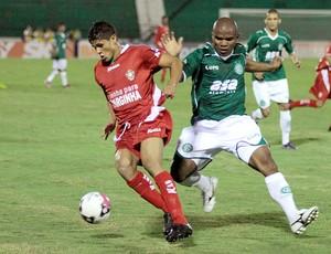 partida entre Guarani e Boa Esporte (Foto: Denny Cesare / Futura Press)