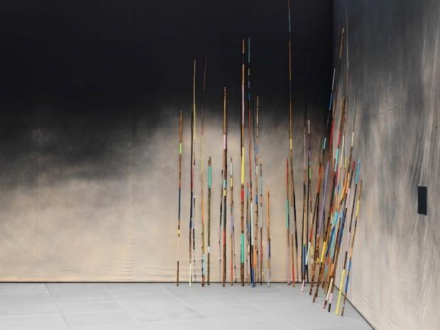 Trabalho de bambu intitulado The Own Shadow (Foto: Jan Northoff / Divulgação)