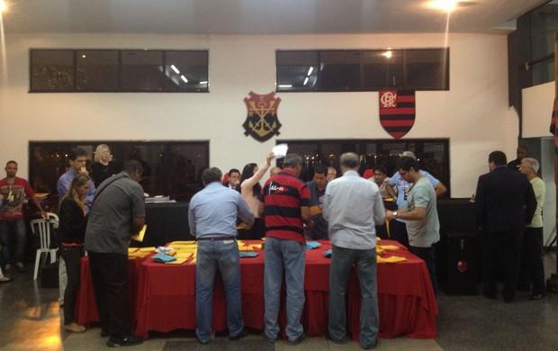 conselho fiscal Flamengo (Foto: Cahê Mota)