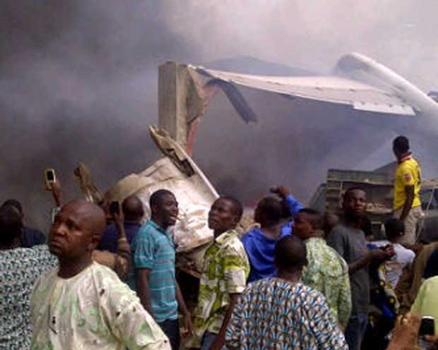 Aeronave fazia a rota entre a capital Abuja e Lagos. (Foto: CKN/AFP)