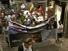 No Dia de Finados, família de Amarildo faz ato na Rocinha