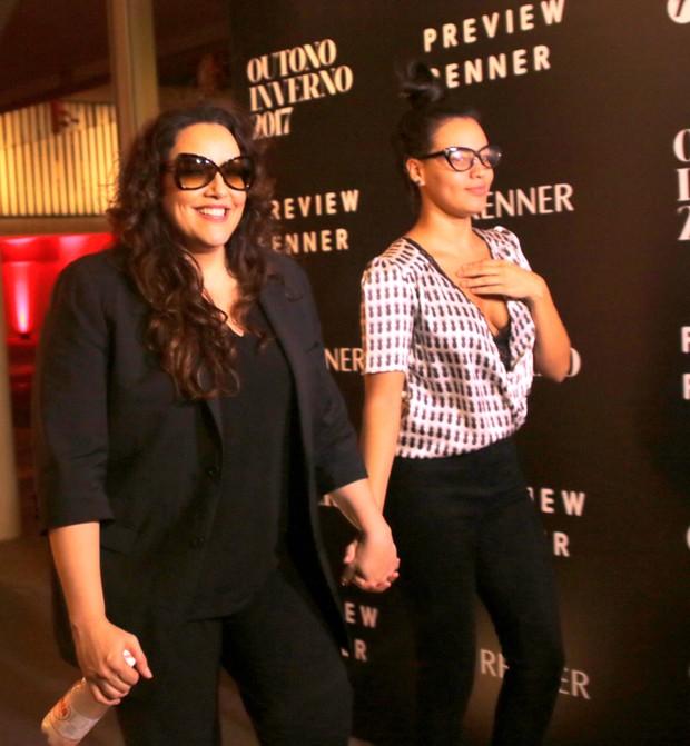 Ana Carolina e Letícia Lima  (Foto:  Thiago Duran/AgNews )