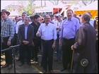 Geraldo Alckmin anuncia construção de casas em Lençóis Paulista, SP