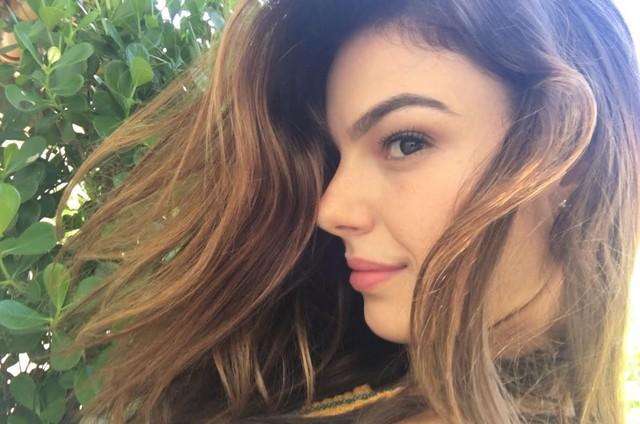 Isis Valverde com os cabelos mais claros para 'A força do querer'  (Foto: Arquivo pessoal)