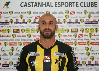 Fernando Sá novo reforço do Castanhal (Foto: Ascom Castanhal)