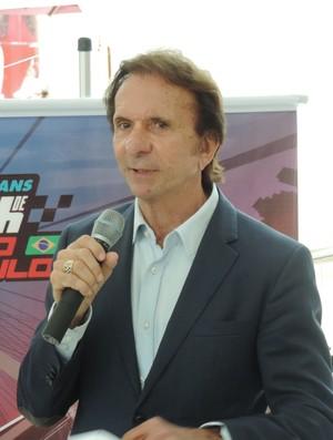 Emerson Fittipaldi, ex-piloto de Fórmula 1