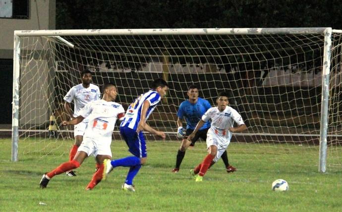 São Raimundo-RR 4 x 0 Náutico-RR - 2º jogo da semifinal do 1º turno do Campeonato Roraimense 2017 (Foto: Imagem/Tércio Neto)