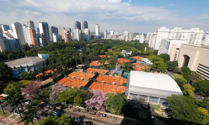 Clube Pinheiros Tênis São Paulo Brasil Open (Foto: Marcello Zambrana / Divulgação)