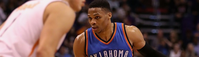 NBA, Phoenix Suns x Oklahoma City Thunder, basquete, Russell Westbrook (Foto: Getty Images)
