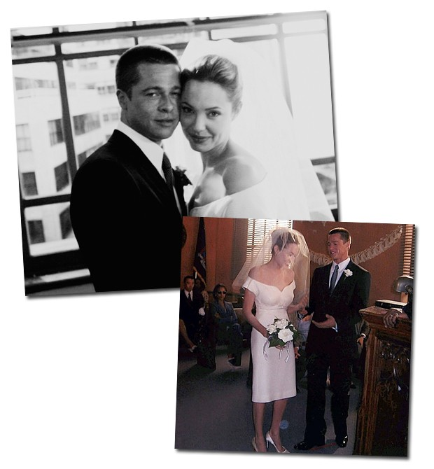 Angelina Jolie Brad Pitt Casamento (Foto:    )