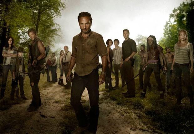 Elenco de The Walking Dead (Foto: Reprodução / Site Oficial da AMC)