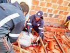 Homem morre após desabamento de imóvel em construção na Bahia; fotos