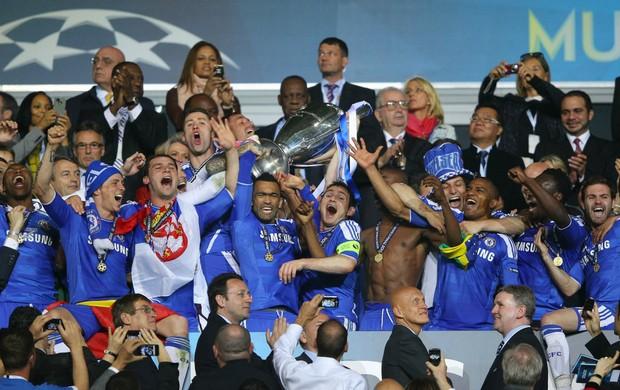 Chelsea taça Liga dos Campeões (Foto: Getty Images)