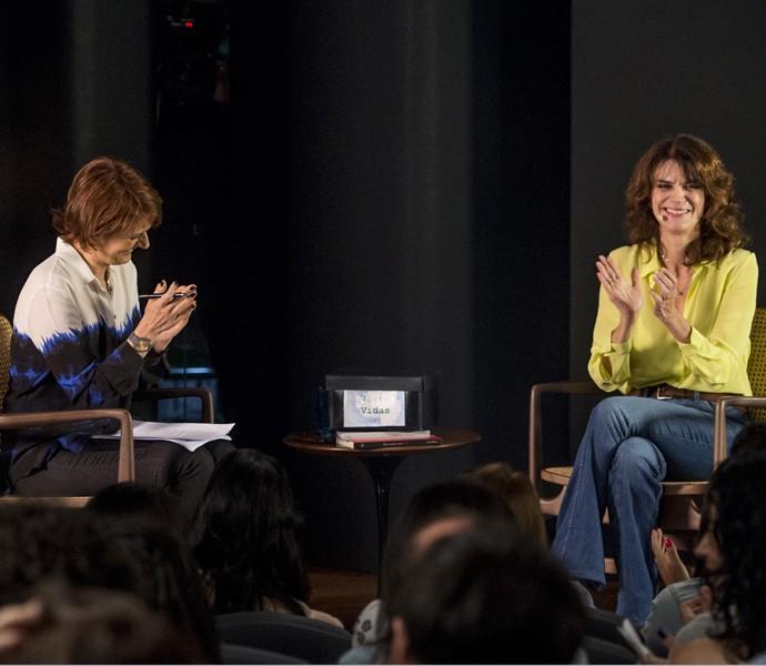 Bianca e Lícia Manzo (Foto: Globo / João Cotta)