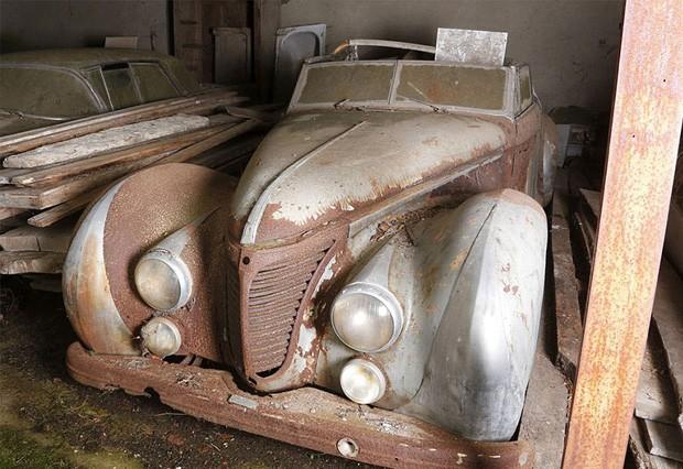 Corros antigos (Foto: Artcurial Motocars/B/NPS/Reprodu)