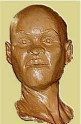 Luzia, a brasileira mais antiga. Ela não se parece com os índios brasileiros (Foto: Reprodução)