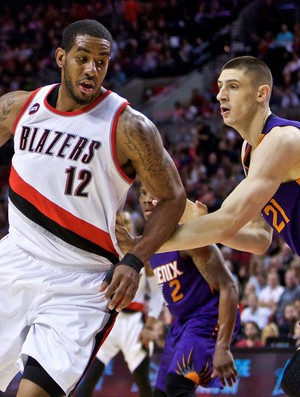 LaMarcus Aldridge Blazers x Suns - NBA - AP (Foto: AP)
