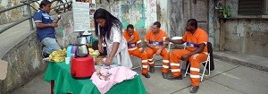Projeto ReciclAção transforma a paisagem e também o comportamento de moradores no Rio (Divulgação)
